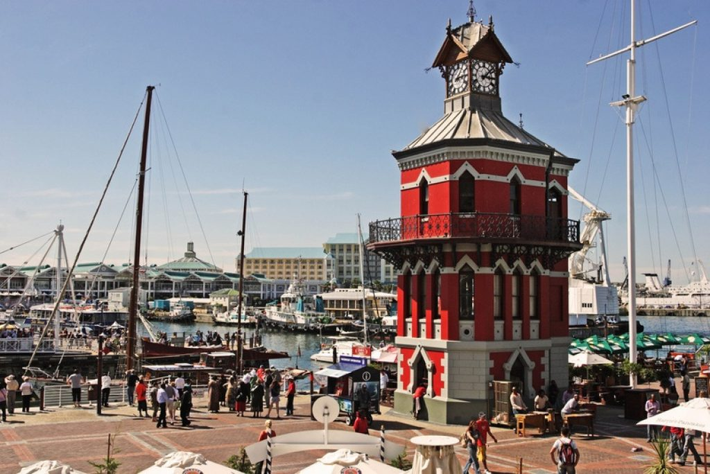 boats-clock-tower-v&a-waterfront