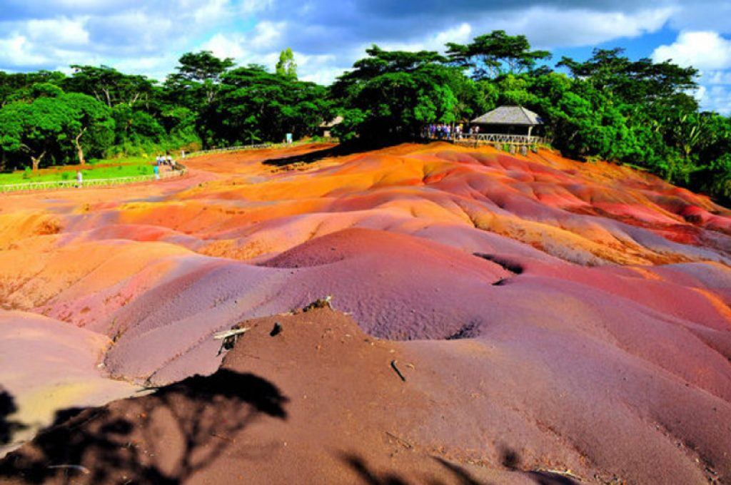rainbow sand at chamaral