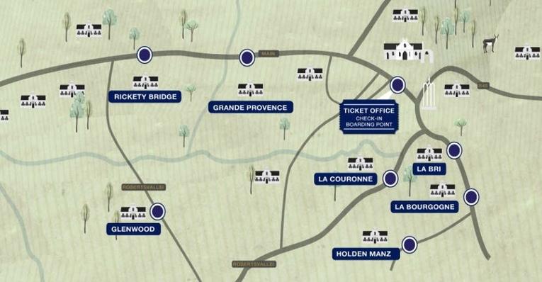 Blue Line Route