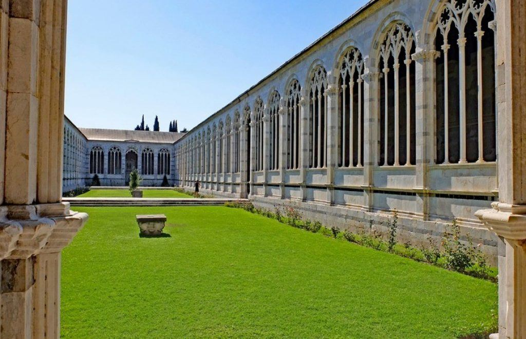 Camposanto Monumentale lawn