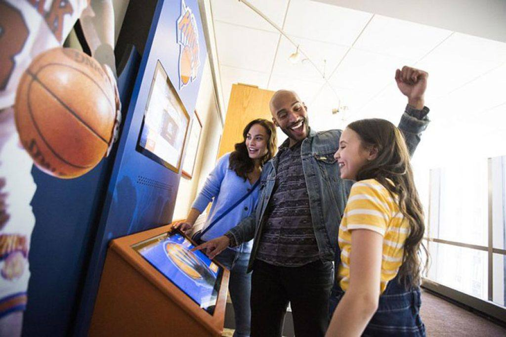 interactive displays at msg