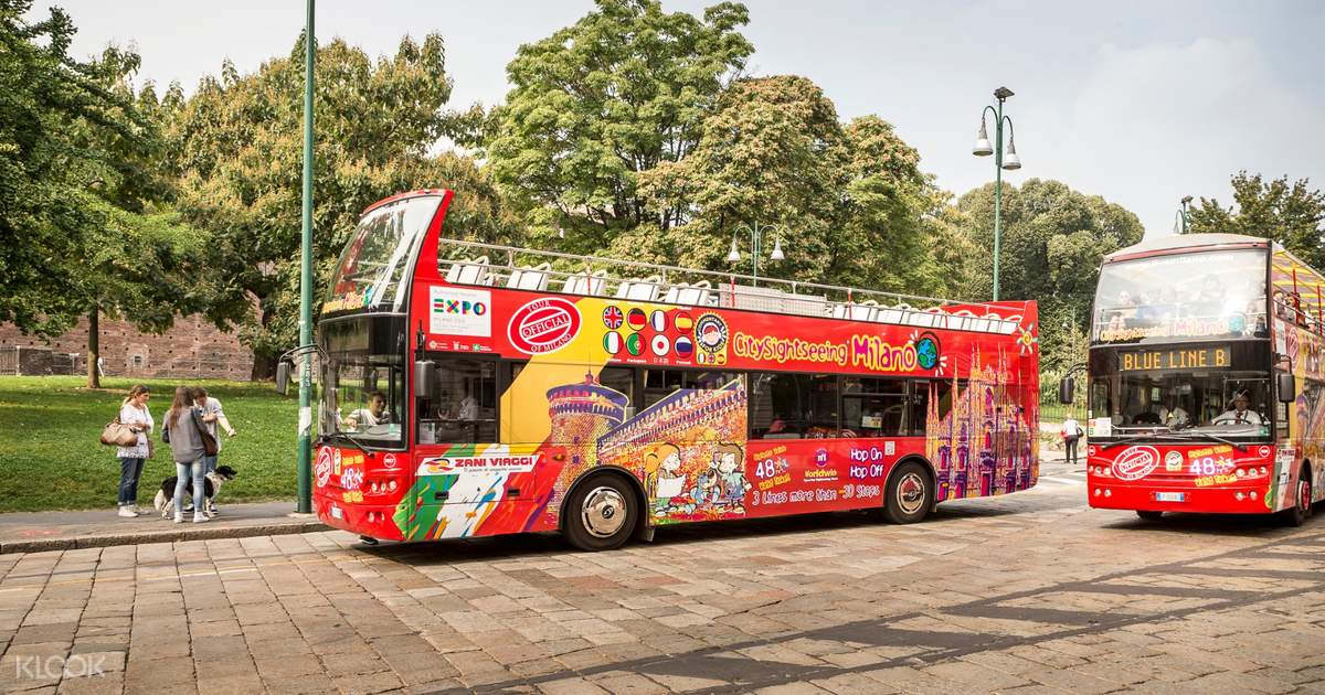 Milan Hop-On Hop-Off City Sightseeing Bus Tour