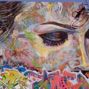 Wynwood Walls face mural