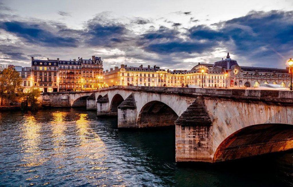 Bridge over the Seine River