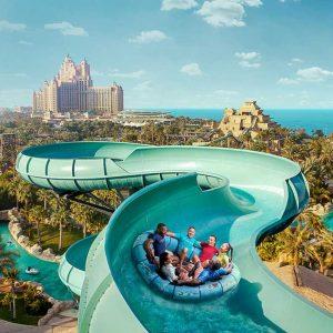 Aquaventure Dubai experience