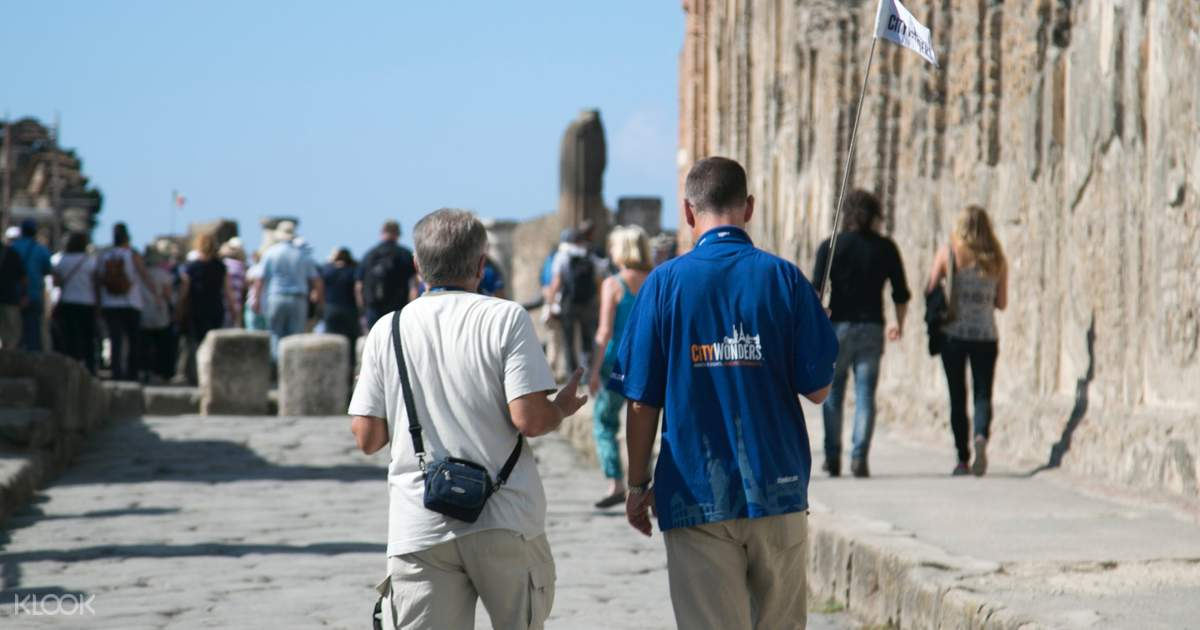 Pompeii and Mt. Vesuvius Day Tour from Rome