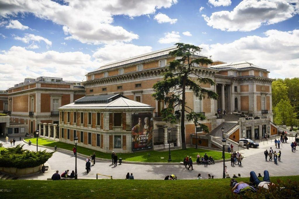 Exterior of the Prado Museum