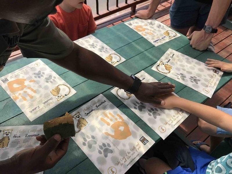 Tenikwa Eco Kid pledge
