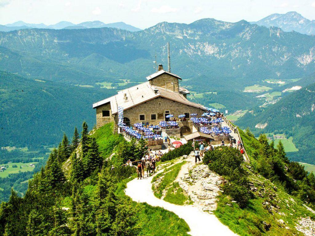 kehlstein mountains from salzburg