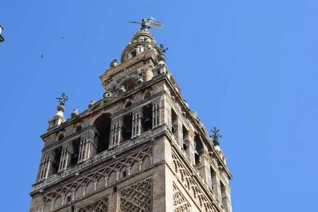 La Giralda from below