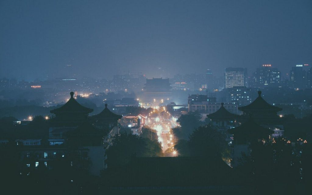 china-night