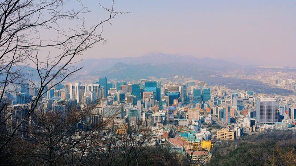 city view of Seoul