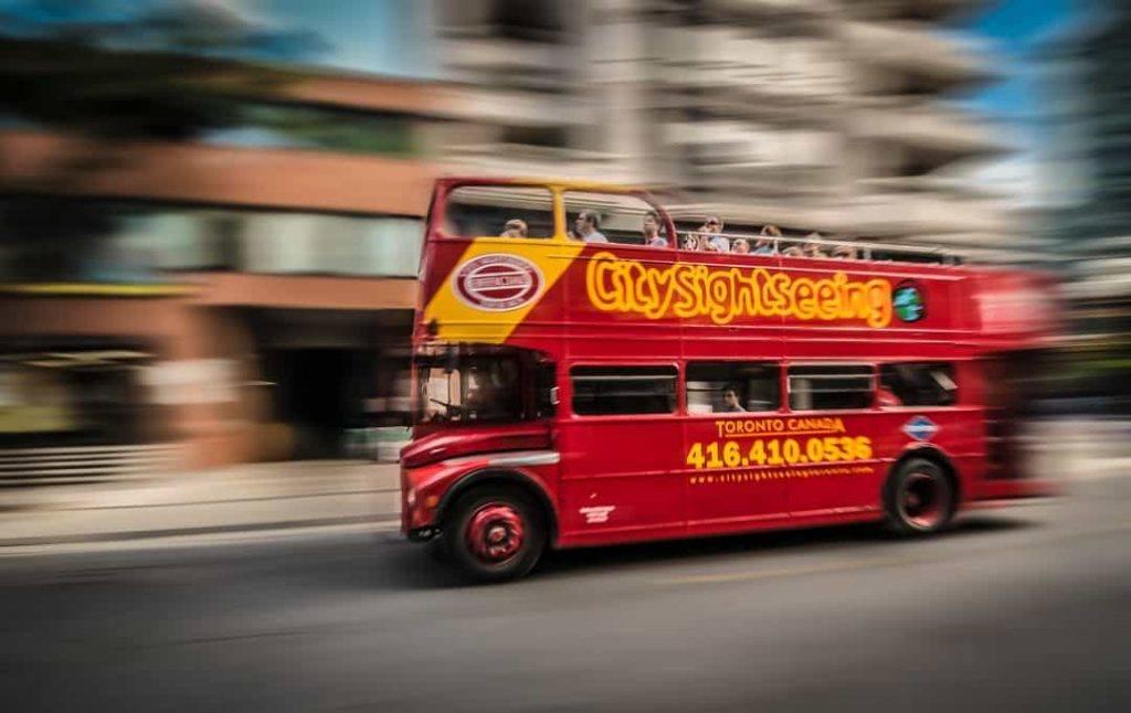 Double Decker Red Bus City Tour