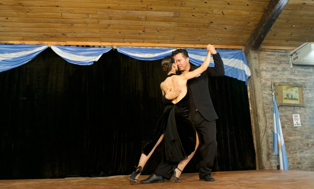 tango demonstration
