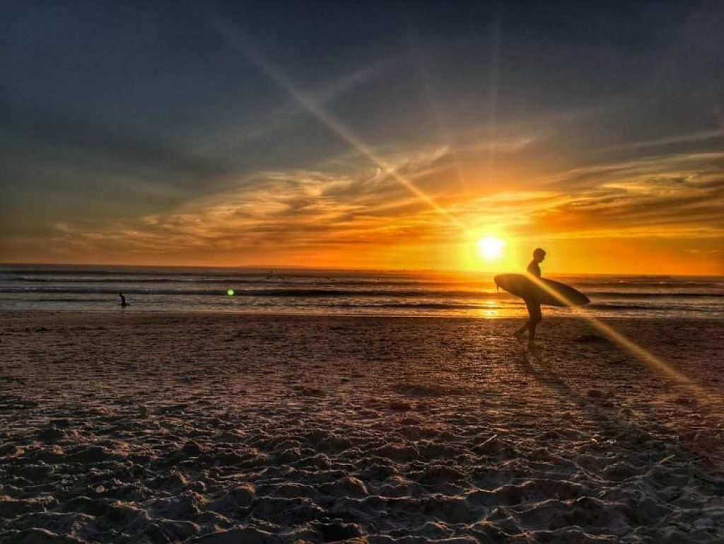 Cape Town Sunset Big Bay