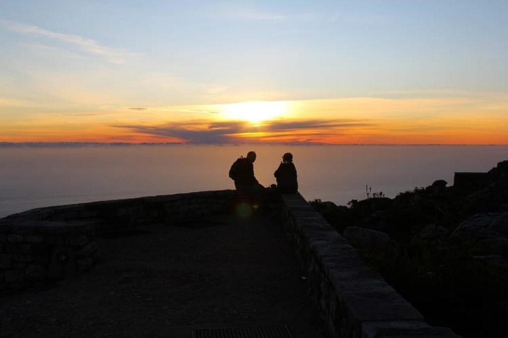 Cape Town Sunset Table Mountain
