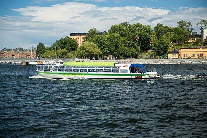24h Hop On Hop Off Boat Stockholm