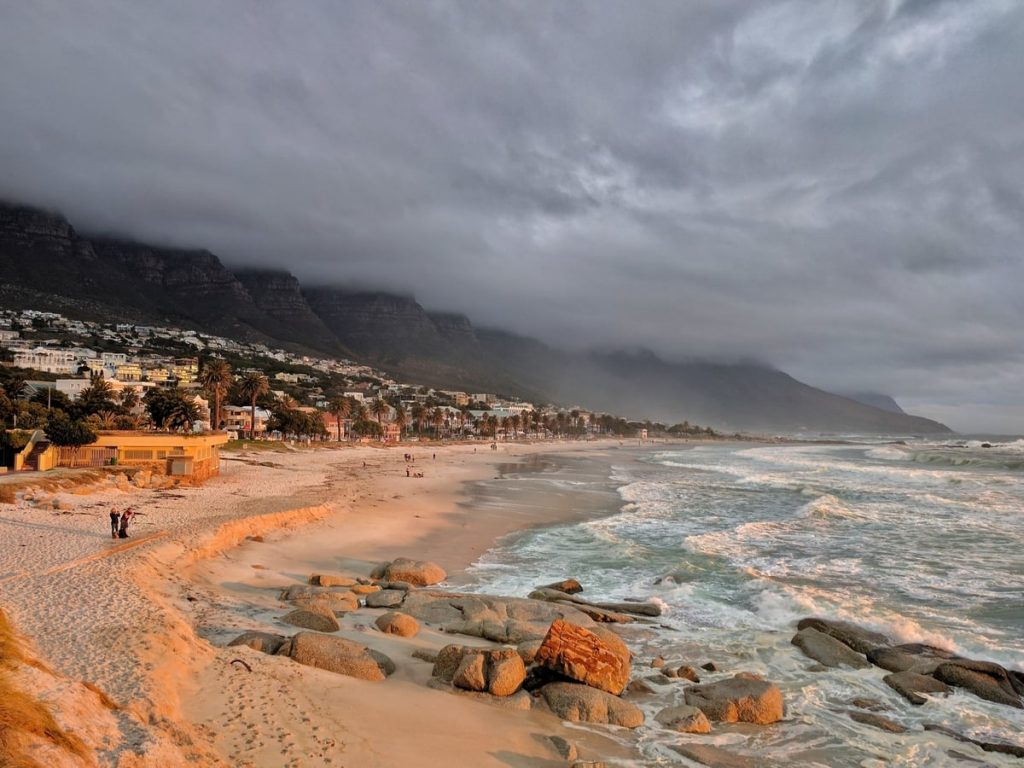 Cloudy Weather in Cape Town