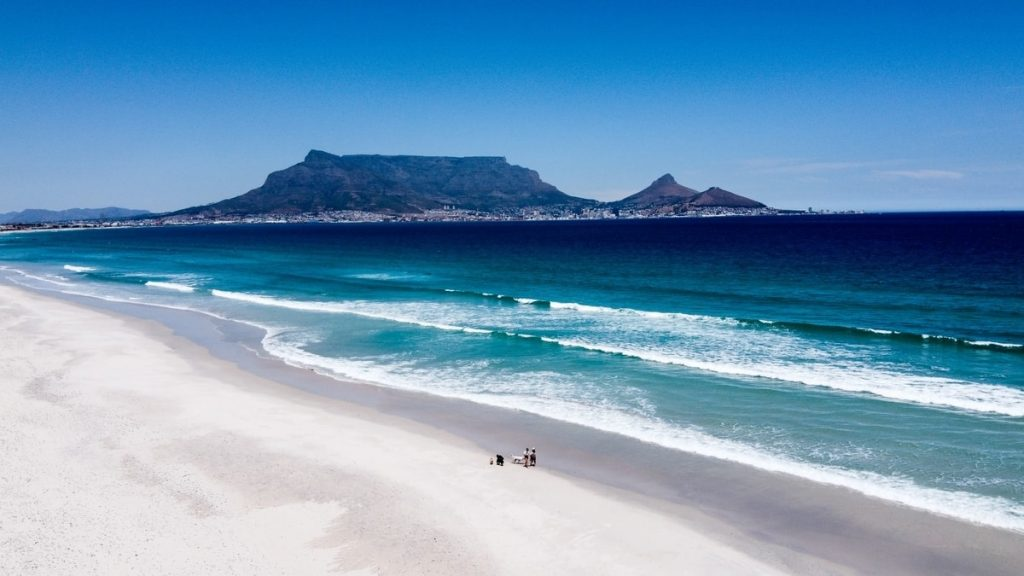 Cape Town Beach Table Mountain