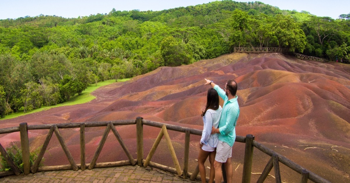Chamarel: 7 Coloured Earth Geopark Entrance Ticket