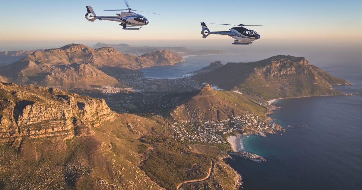 From Cape Town: Cape Peninsula Scenic Helicopter Flight