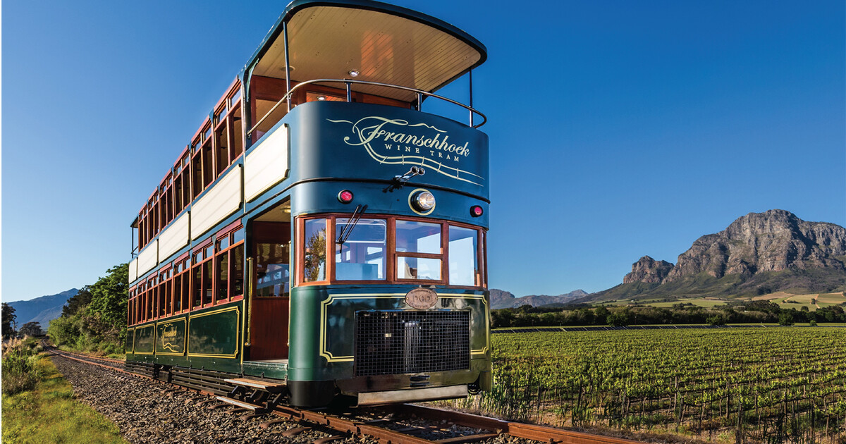 From Cape Town: Franschhoek Wine Tram Hop-on Hop-off