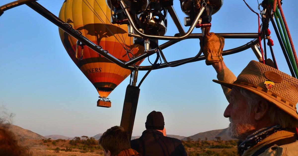 Pilanesberg National Park/Sun City Hot Air Balloon Safari