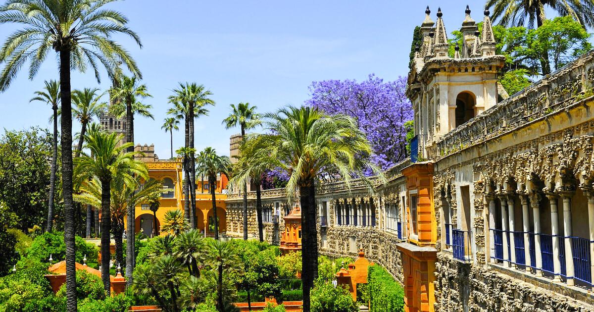 Seville: Alcazar, Cathedral & Giralda Guided Tour