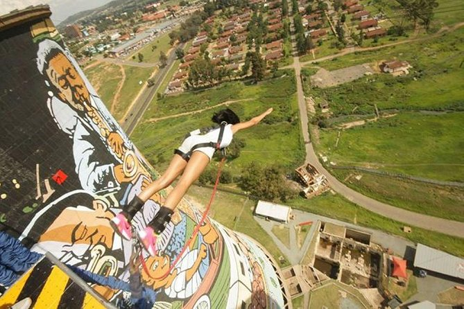 Soweto Bicycle Tour with Optional Bungee Jump