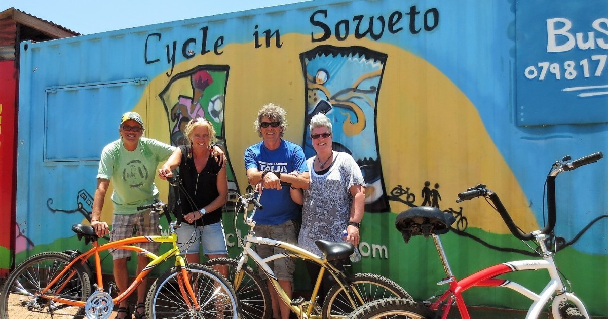 Soweto: Bike Tour with a Local Tour Guide