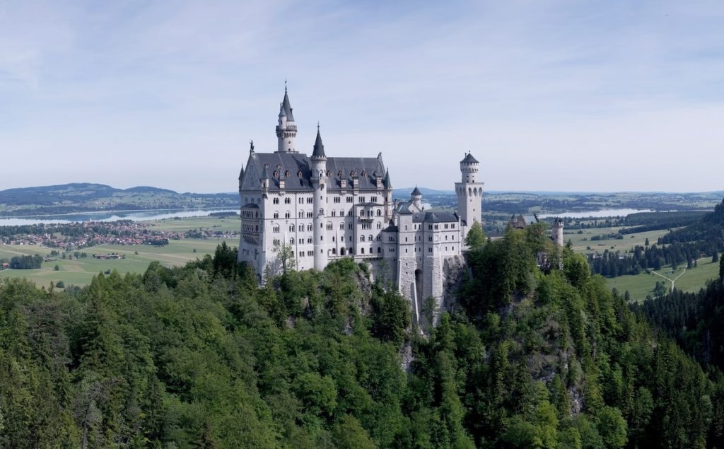 Munich Germany Disney Castle