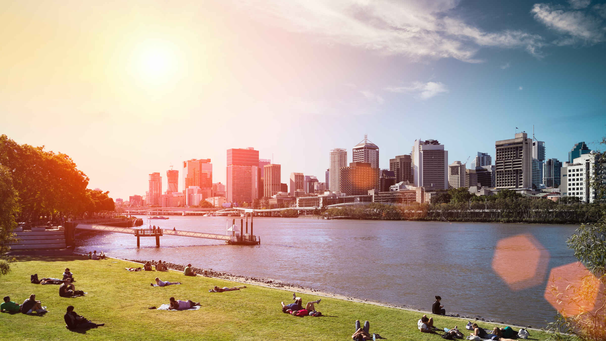 Brisbane Express River Cruise and Koala Sanctuary Visit