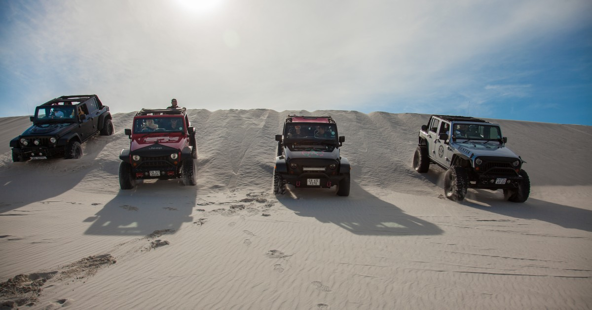 Cape Town: Dune Adventure Tour in an Open Top Jeep Wrangler