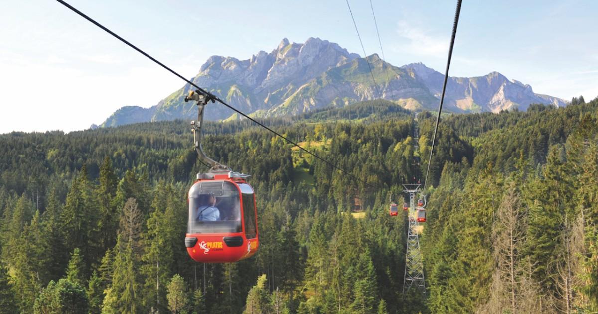 Mt. Pilatus Self-Guided Trip: Lucerne's Landmark Mountain
