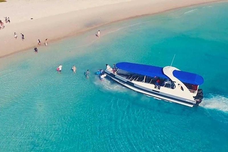catamaran snorkeling whitehaven beach