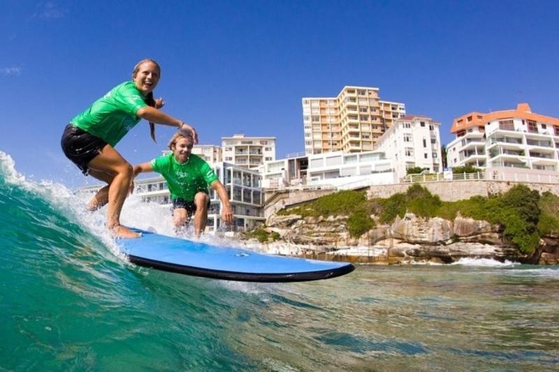 surfing lessons at bondi beach