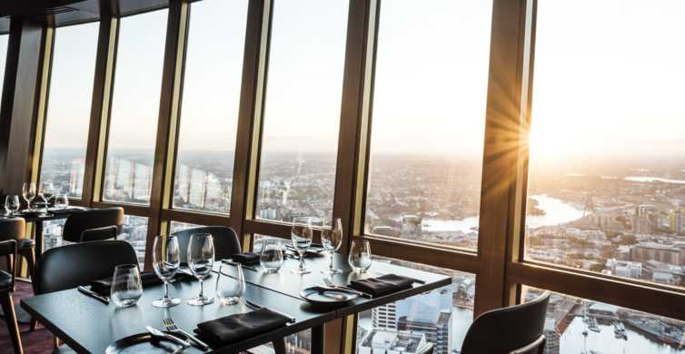 Sydney: Infinity at Sydney Tower Dining Experience
