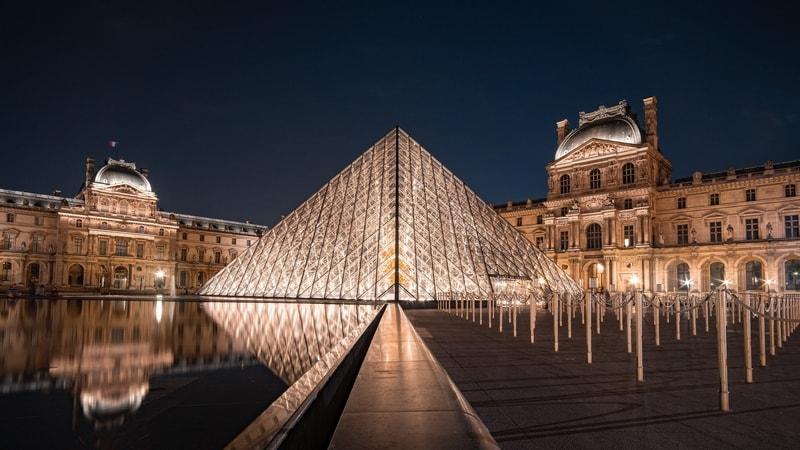 Du Louvre Museum, Paris France