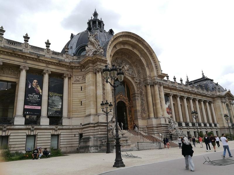 The Grand Palais Museum in Paris, France