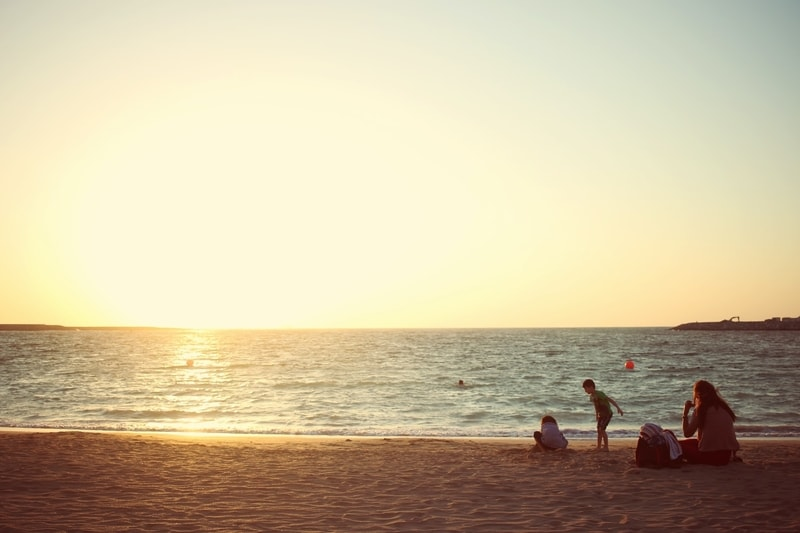 La Mer beach in Dubai, United Arab Emirates