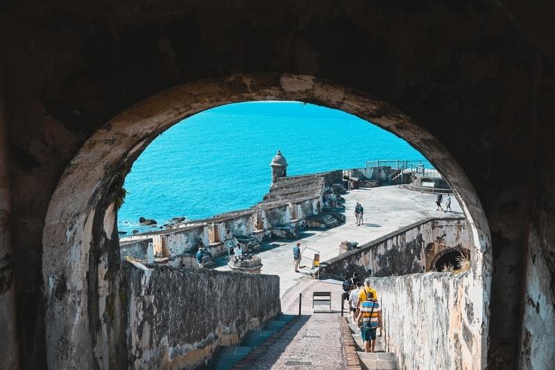 The Old San Antiguo Building in San Antiguo Puerto Rico