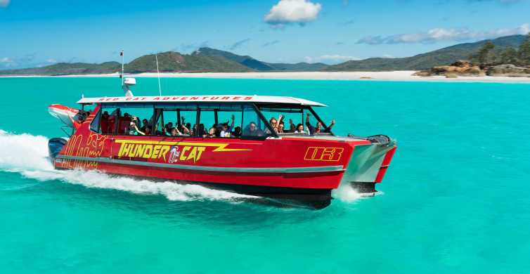 Airlie Beach: Whitehaven Eco-Cruise with Snorkeling & Lunch