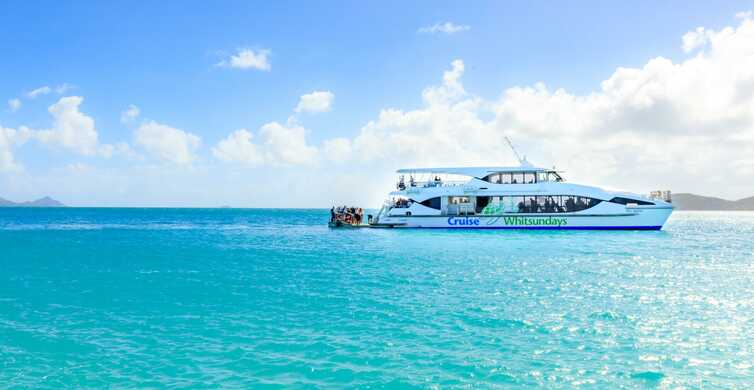 Airlie Beach: Whitsundays and Whitehaven Half-Day Cruise