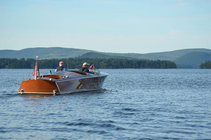 boat in lake winnipesaukee