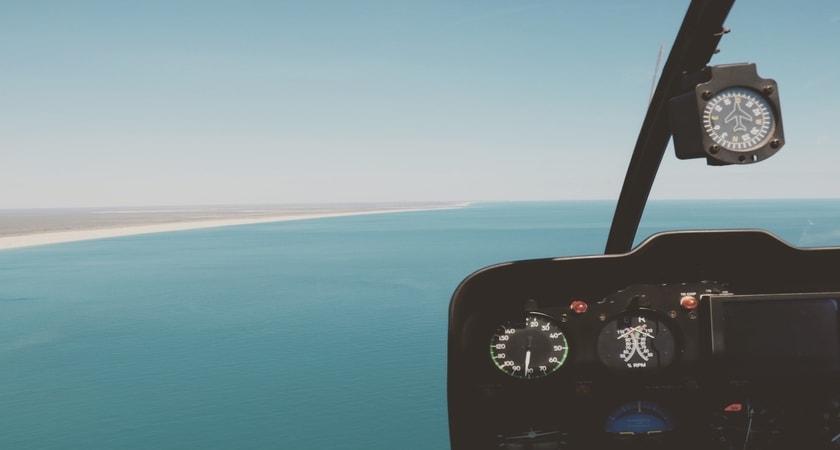 Helicopter tour, Australia