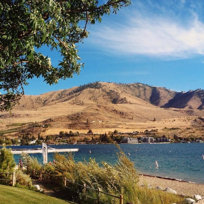 Lake Chelan in America