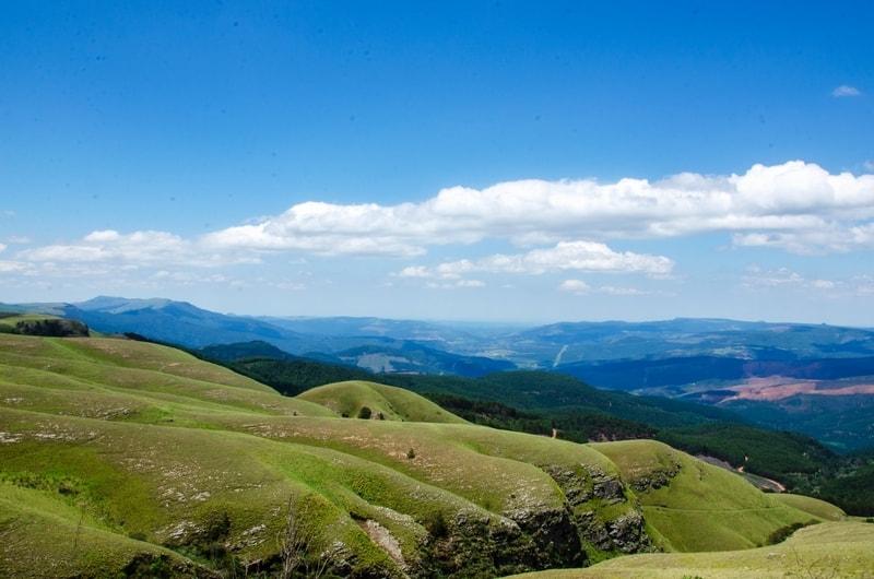 Mountain scenery in Mpumalanga