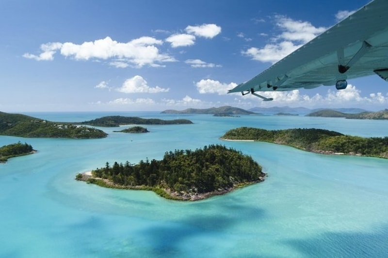 Flying Low Over the Whitsundays