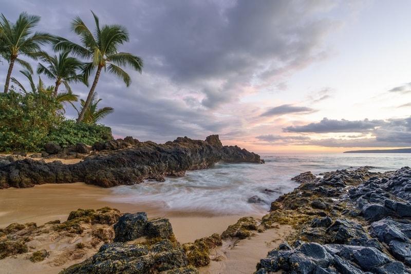 Secret beach at Maui