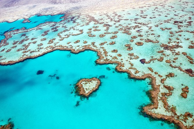 Whitsunday Islands and Heart Reef Scenic Flight - 70 minutes